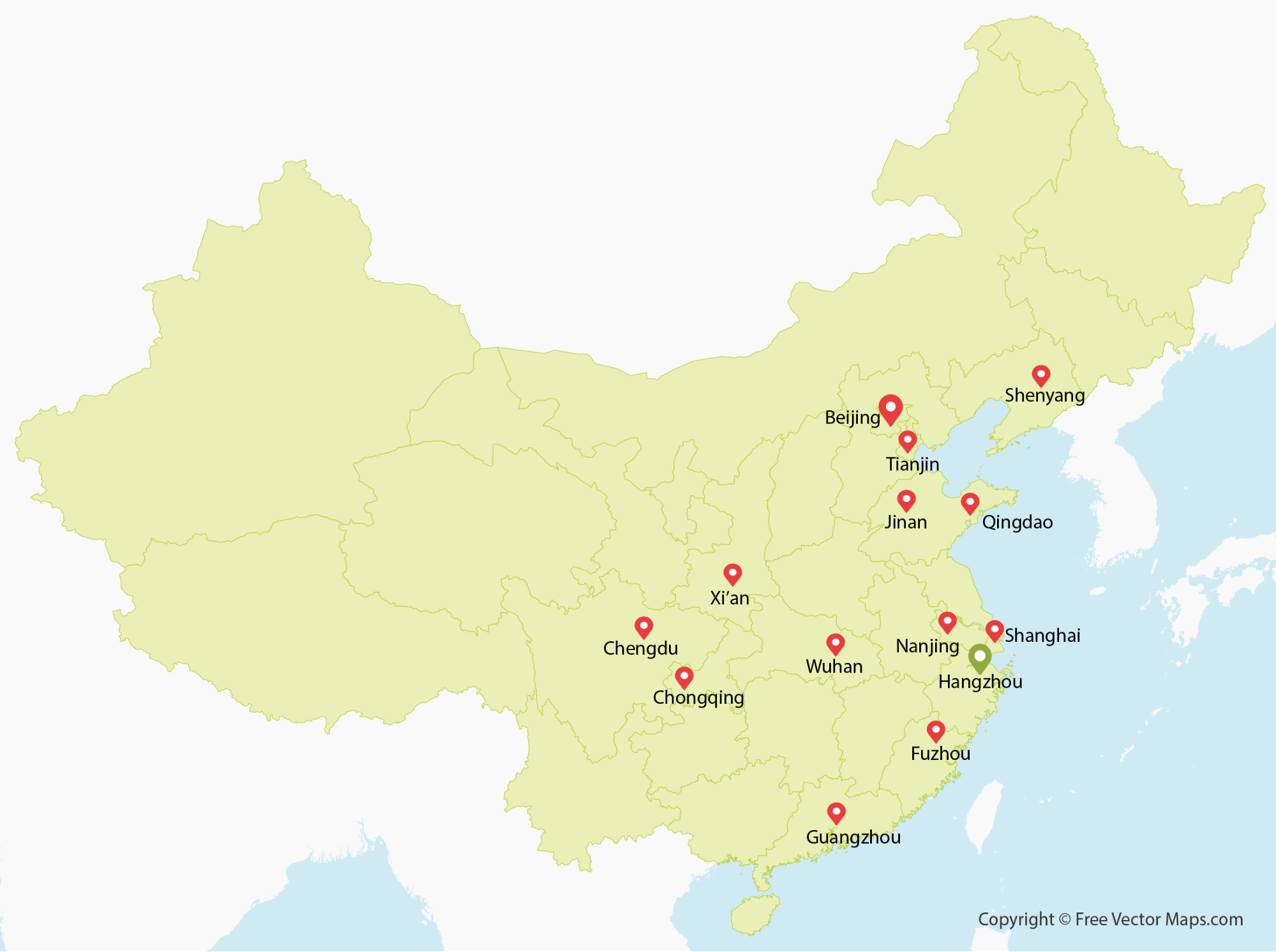 china map major cities Country Profile Flying Cows Country Profile China China Map china map major cities